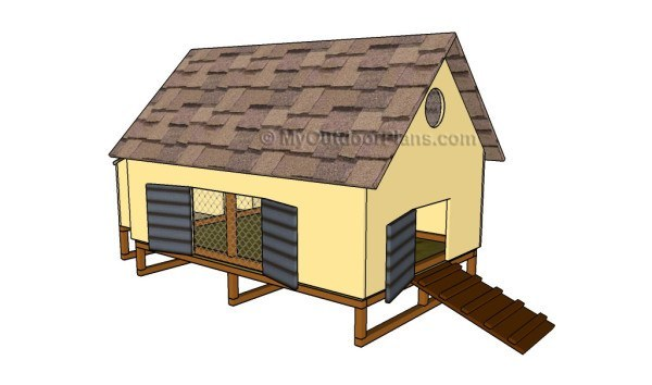 The Guys At MyOutdoorPlans Said That You Can Build This Coop In Just One Day Even If Havent Built Anything Before By Way They Have