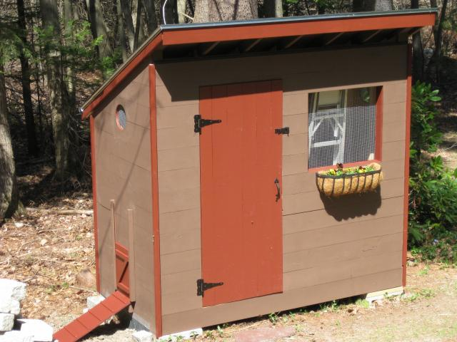 61 diy chicken coop plans that are easy to build 100 free for Simple chicken coop plans for 6 chickens
