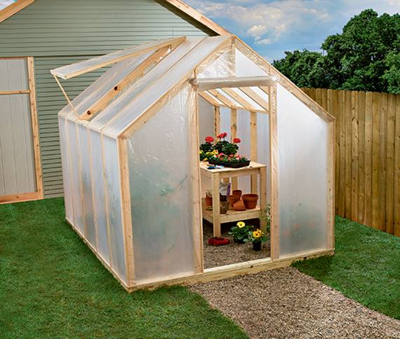 Build Your Own Greenhouse Cheap Simple Minimalist Home Ideas