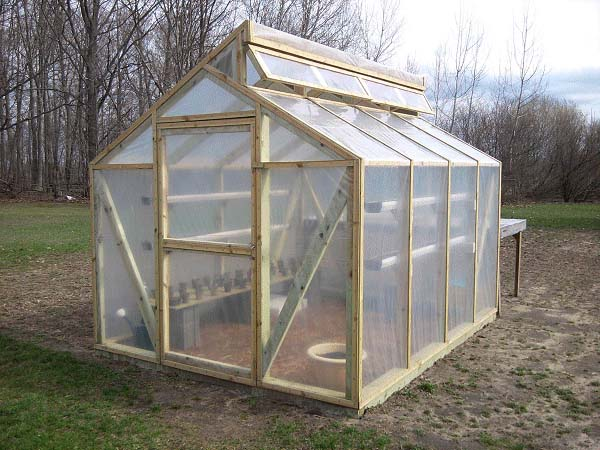 The BuildEazy Greenhouse