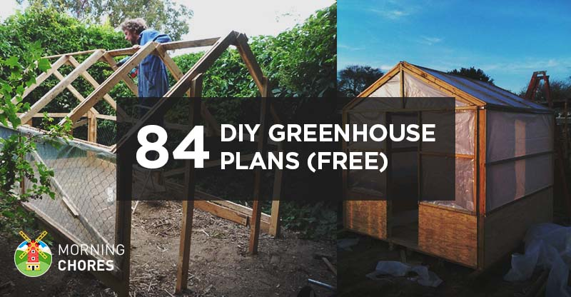 125 diy greenhouse plans you can build this weekend free for Green home blueprints