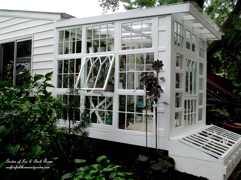 This Is Another Greenhouse That Uses Repurposed Windows