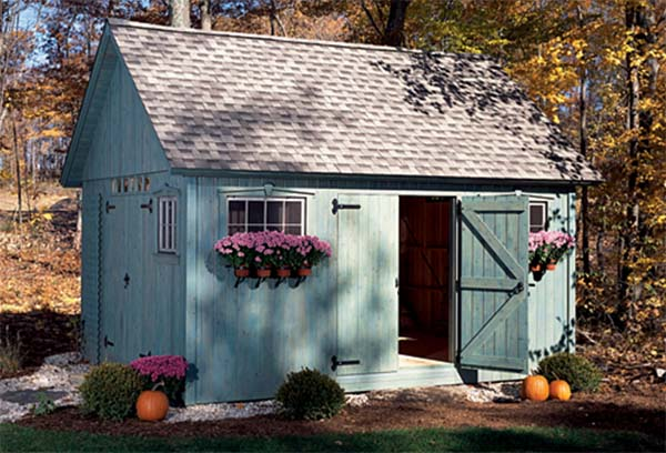 Colonial Shed
