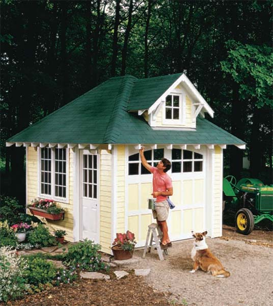 Cottage Shed - 108 DIY Shed Plans With Detailed Step-by-Step Tutorials (Free)