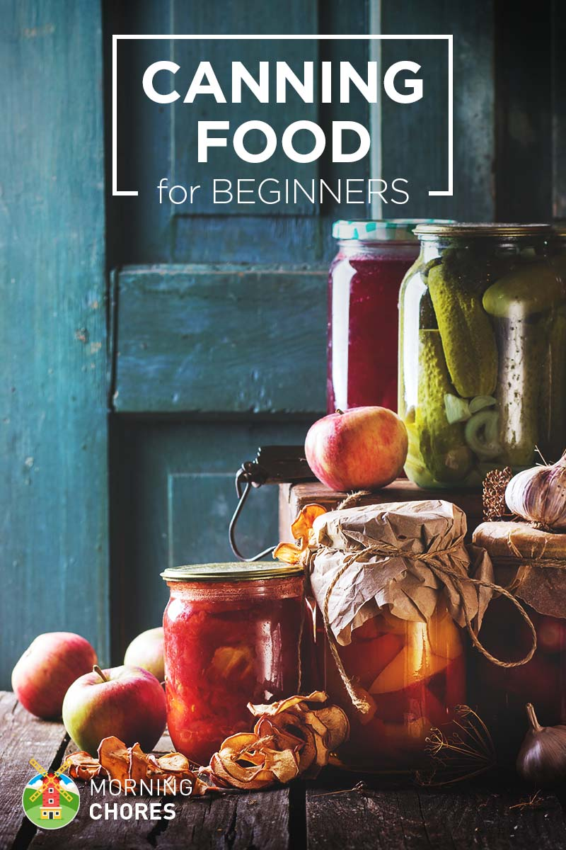 canning 101 how to can food for beginners a complete guide