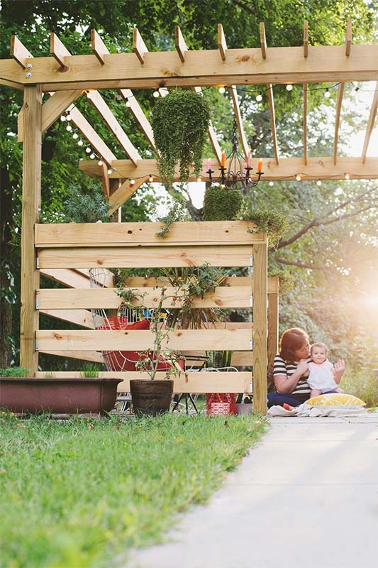 Pergola Plans 1 - 51 DIY Pergola Plans & Ideas You Can Build In Your Garden (Free)