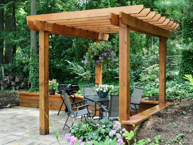 I love these pergola plans. The first is because it is gorgeous, which most  pergolas are. - 51 DIY Pergola Plans & Ideas You Can Build In Your Garden (Free)