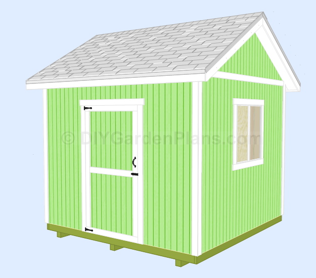 shed 67 - 108 DIY Shed Plans With Detailed Step-by-Step Tutorials (Free)