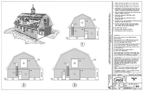 i'm full of plans today, huh? this site offers your traditional pole barn  plans  but they also offer a few non-traditional barn plans as well