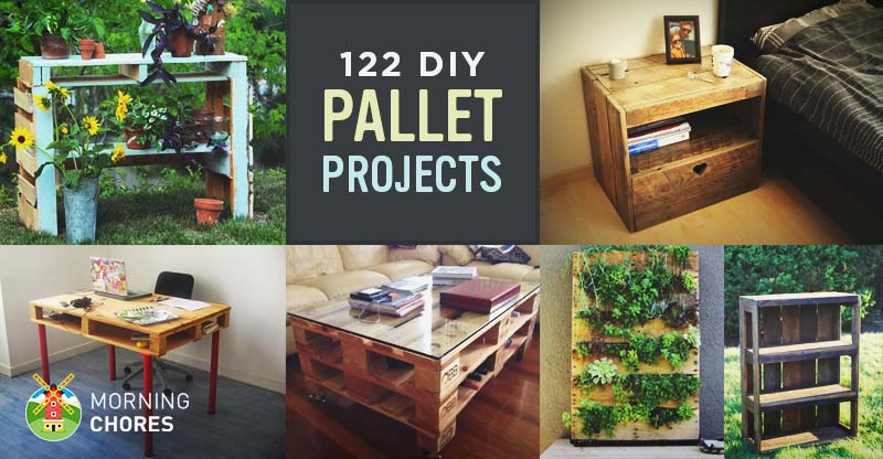 122 Awesome DIY Pallet Projects and Ideas (Furniture and ...