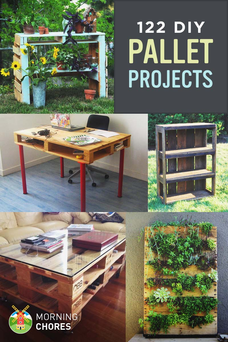 122 DIY Recycled Wooden Pallet Projects and