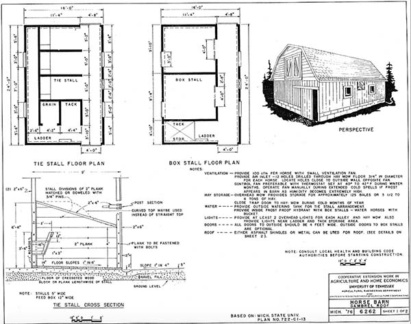 153 pole barn plans and designs that you can actually build for Barn house layouts