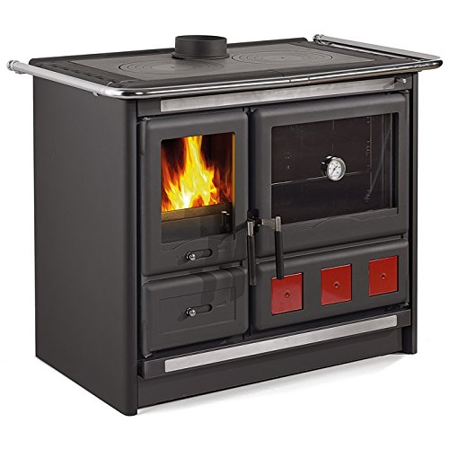 This Stove Comes With A Large Oven For Baking That Is Almost 3 Cubic Feet It Has Great Burning Efficiency Of 85 And Double Air Control