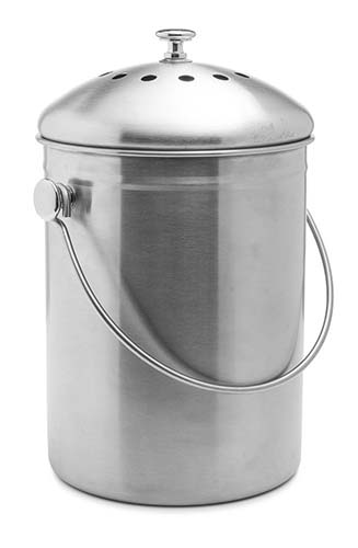 The Epica Stainless Steel Version Is Attractive And Incorporates The Right  Features To Make It Possible For Odor Free Kitchen Composting.