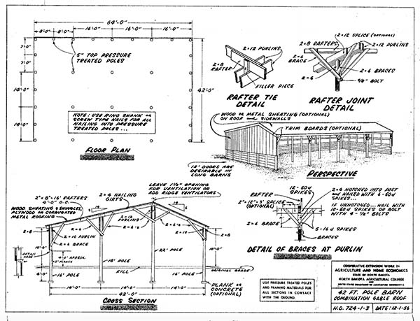 153 pole barn plans and designs that you can actually buildndsu pole barn plans