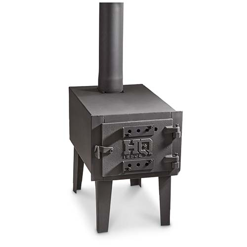 Hq Issue Outdoor Wood Stove