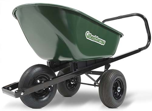... Of Motion Which Is Beneficial In A Small Garden. The Wheelbarrow Is  Sturdy And Is Well Balanced That Makes The Dumping Over The Side Process  Simple.