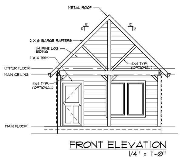 plan for building a cabin