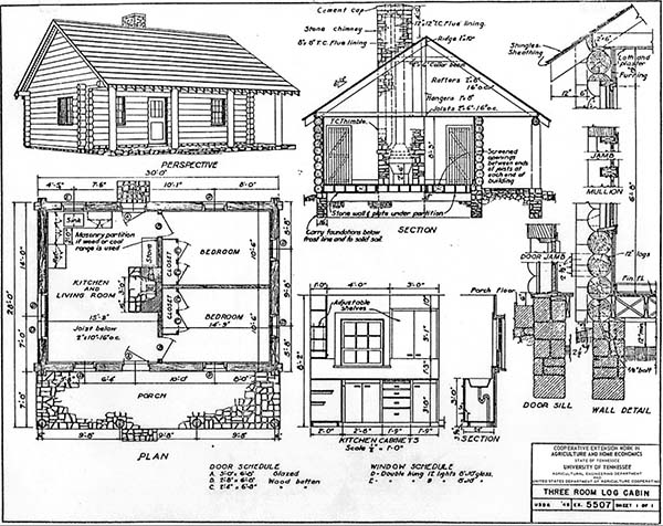 Marvelous Cabin Plans UT
