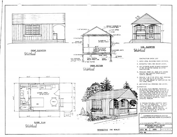 Cabin Plans by NDSU