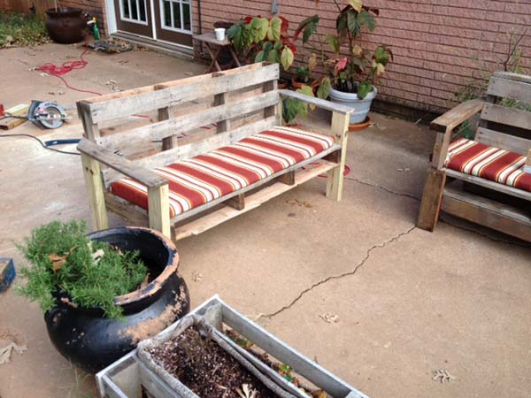 122 Awesome DIY Pallet Projects And Ideas Furniture Garden