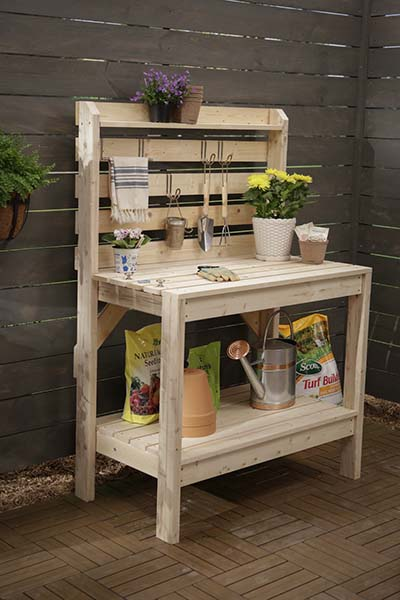 Great RyobiNation Potting Bench