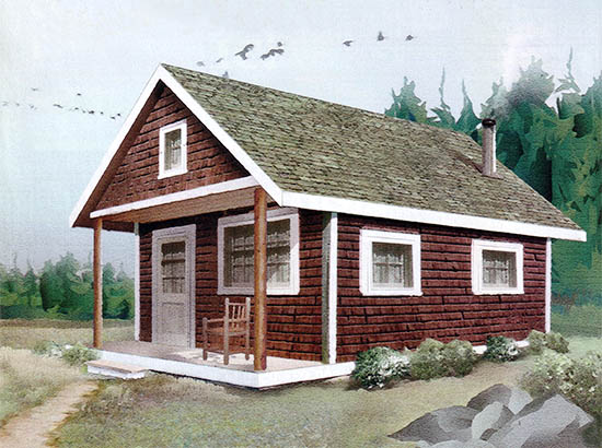 27 beautiful diy cabin plans you can actually build rh morningchores com small cabin to build small cabin cost to build
