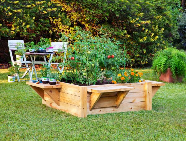 raised-garden-bed-5 - 59 DIY Raised Garden Bed Plans & Ideas You Can Build In A Day