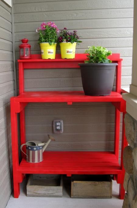 45 DIY Potting Bench Plans That Will Make Planting Easier ...
