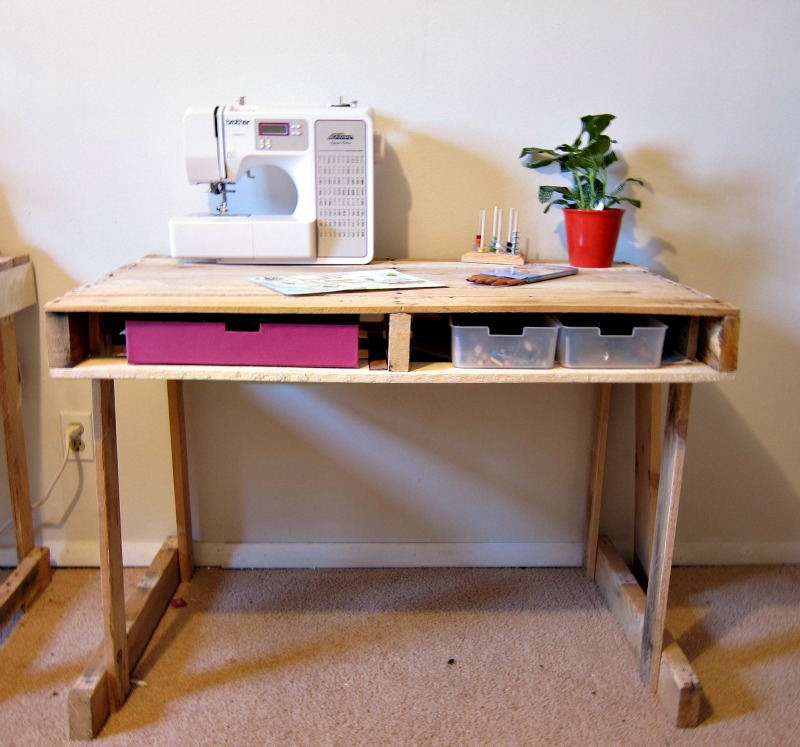 This Desk Could Work For Working Desk Or As A Craft Station. I Love The  Drawer Area On The Bottom Side Of The Desk. It Is A Very Versatile Piece.