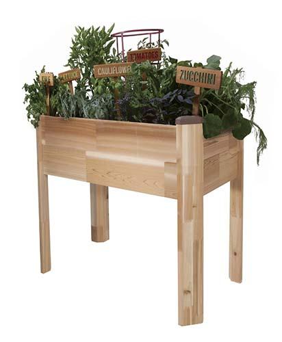 CedarCraft Elevated Garden Planter ...