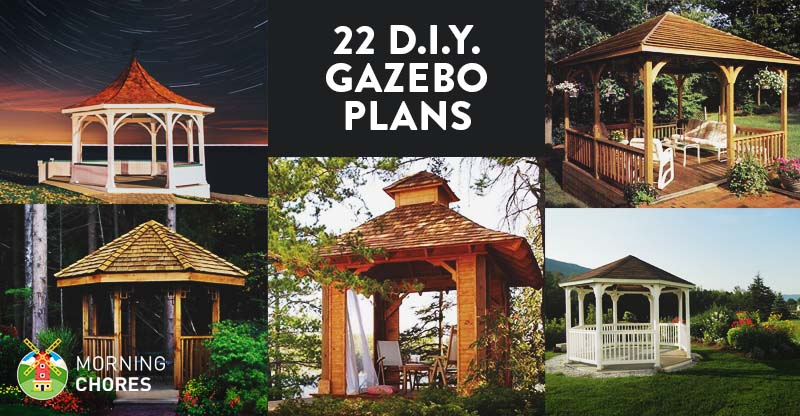 22 Free DIY Gazebo Plans FB