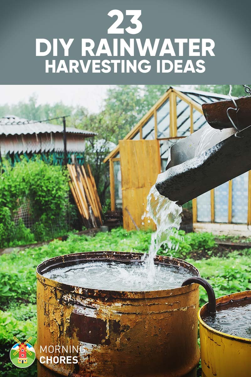 how to make rainwater harvesting model