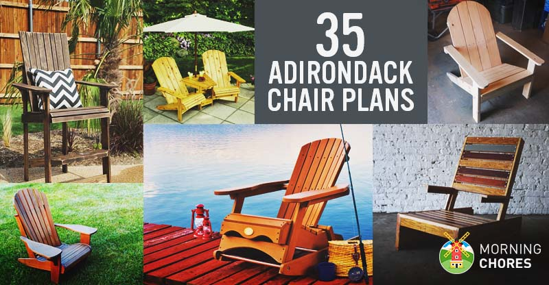 35 free diy adirondack chair plans ideas for relaxing in for Adirondack house plans