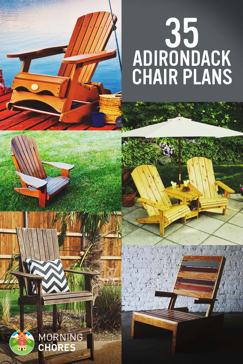 35 free diy adirondack chair plans ideas for relaxing in your backyard - Decorating Adirondack Chairs For Christmas