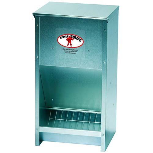 Little Giant High Capacity Poultry Feeder