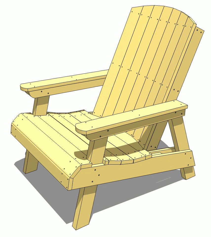 35 free diy adirondack chair plans ideas for relaxing in for Relaxing chair design