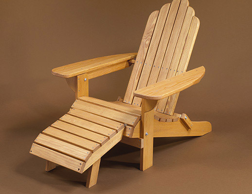 This Chair By Minwax Is Another In The Form Of A Traditional Style  Adirondack. It Would Look Great Sitting On Your Patio, Porch, Or Deck.