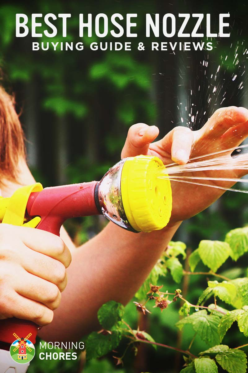 & 5 Best Hose Nozzles and Sprayers for Your Garden Plants or Cars