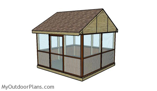 22 free diy gazebo plans ideas to build with step by step tutorials this looks heavenly a screened porch of any kind is such a nice addition to a home so naturally having a screened gazebo is so nice too solutioingenieria Image collections