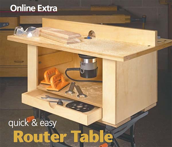 39 free diy router table plans ideas that you can easily build quick and easy router table greentooth Choice Image