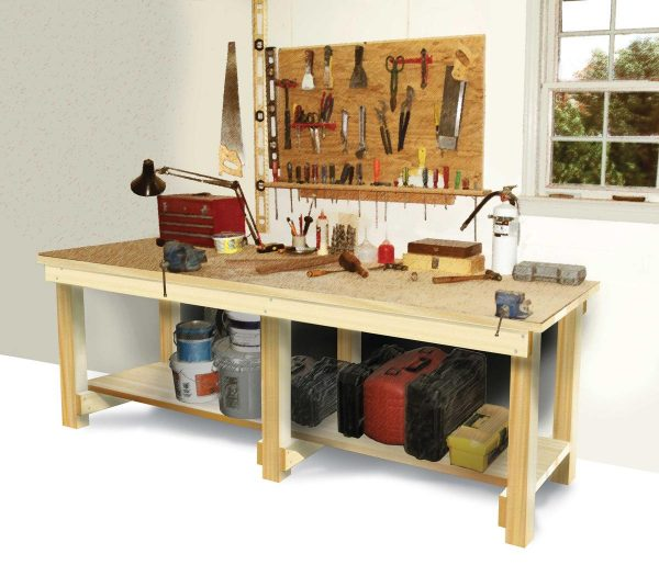 49 Free Diy Workbench Plans Ideas To Kickstart Your Woodworking