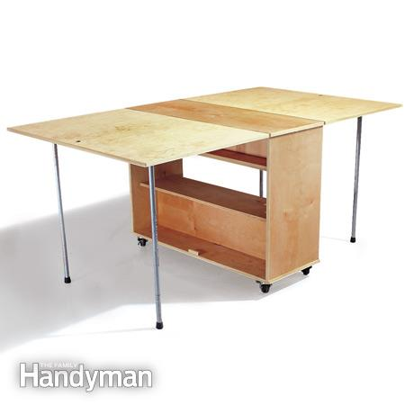 This Workbench Is Super Simple And Requires Minimal Materials. It Has A  Great Amount Of Workspace And Ample Storage For Tools And Other Odds And  Ends Too.