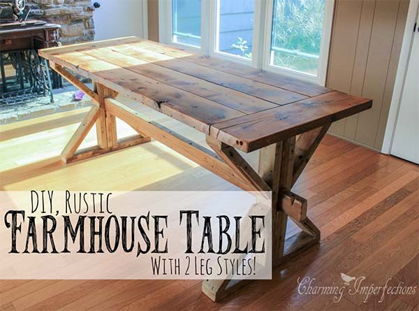 40 Diy Farmhouse Table Plans Ideas For Your Dining Room Free - Dining-room-tables-plans