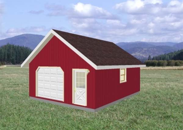 18 Free DIY Garage Plans with Detailed Drawings and Instructions – Do It Yourself Garage Plans