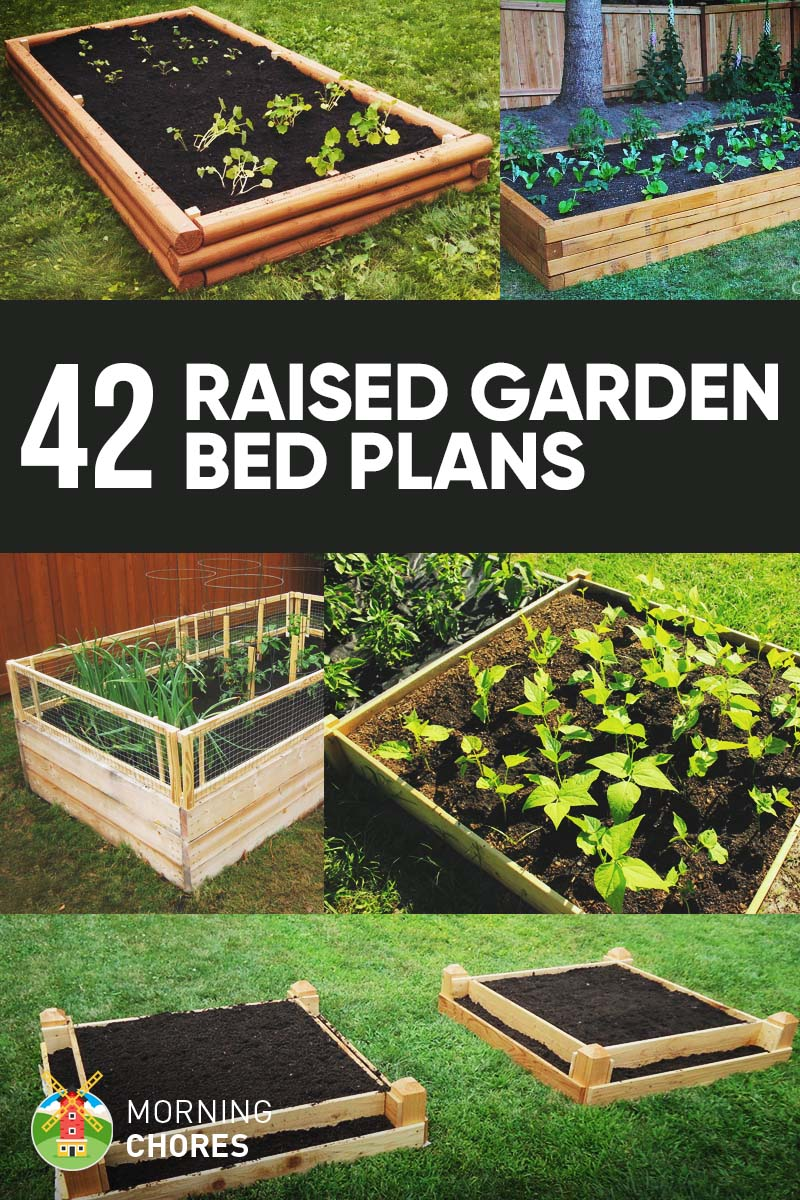 a beds bed block outdoor wall build wood gardening garden and project how raised frame projects concrete to