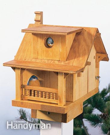 53 diy bird house plans that will attract them to your garden for Simple house design made of wood