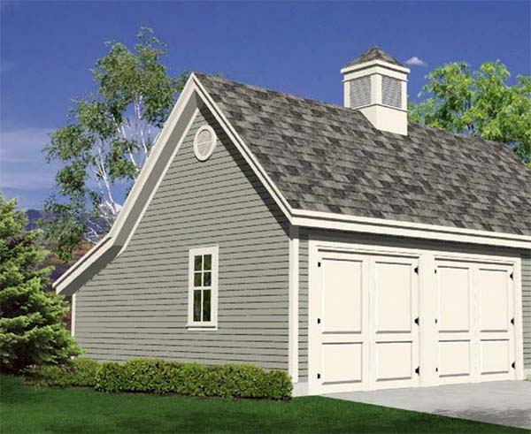 18 free diy garage plans with detailed drawings and for Garage framing instructions