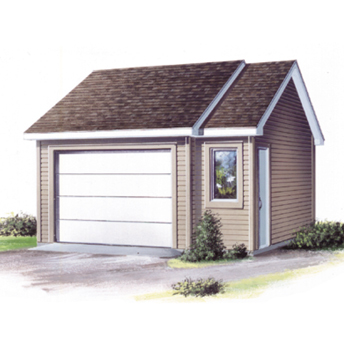 18 free diy garage plans with detailed drawings and for How to build a garage loft