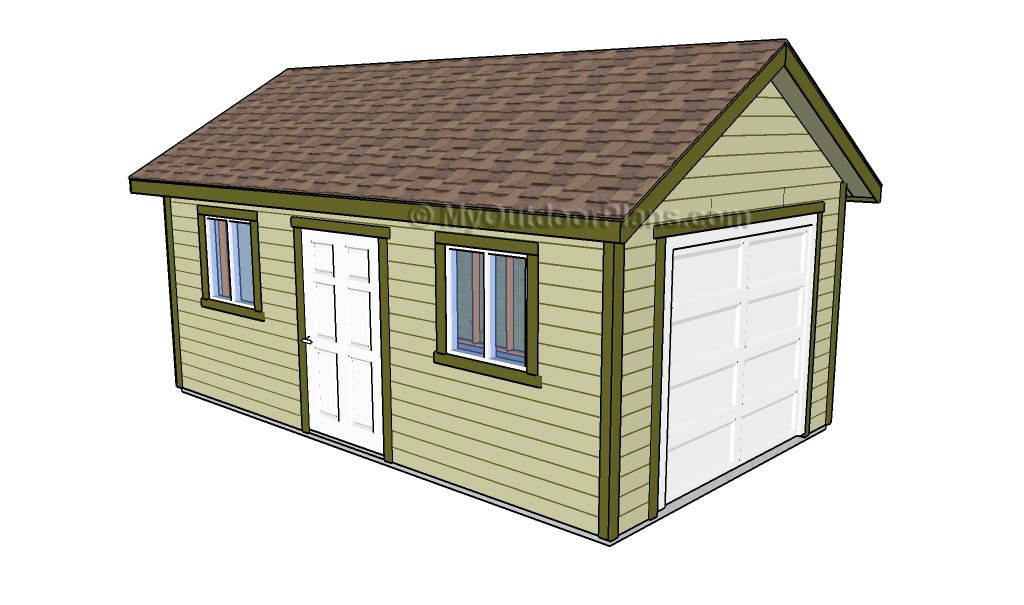 18 Free DIY Garage Plans with Detailed Drawings and Instructions – 2 Car Garage Plans With Workshop